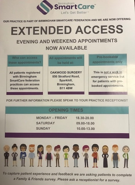 Extended Hours Poster